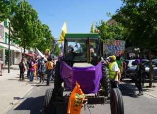 Le 2 juin 2021, la manifestation à Bar-le-Duc en soutien aux opposant·es au projet Cigéo à Bure, renvoyés devant le tribunal correctionnel.