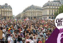 Pride Radicale LGBT marche manifestation