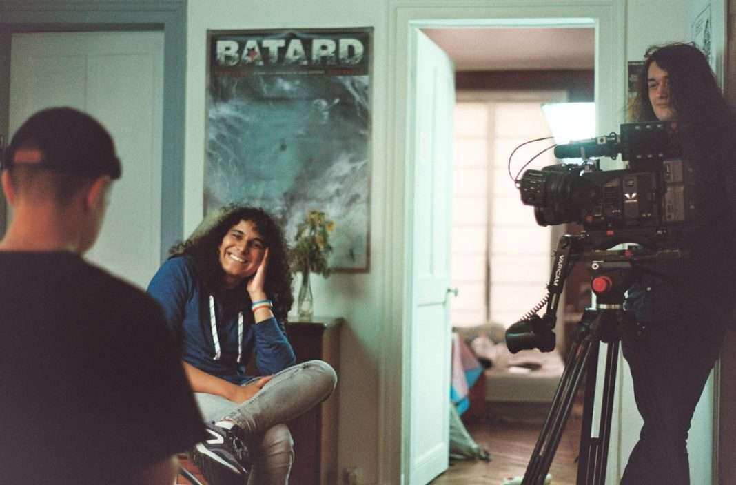Photo du tournage d'un épisode