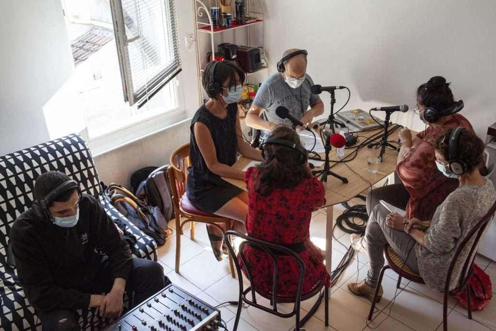 Plateau radio Juliette Rousseau Youlie Yamamoto Christelle H
