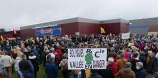 Manifestation le 2 mai contre le projet de décharge de déchets du Grand Paris près de Saint Hilaire en Essonne.